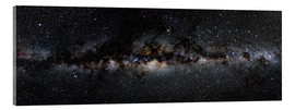 Acrylic print  Milky way panorama - Jan Hattenbach