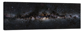 Canvas  Milky way panorama - Jan Hattenbach