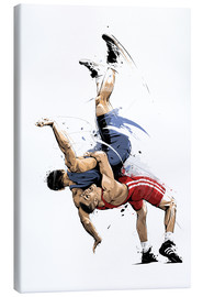 Canvas print  Wrestling - Tompico