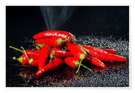 Premium poster Chili - Hot Stuff
