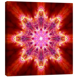 Canvas print  Mandala - Your creative power - Dolphins DreamDesign