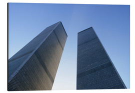 Aluminium print  Twin Towers of the WTC - Sue Cunningham