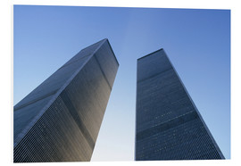 Foam board print  Twin Towers of the WTC - Sue Cunningham