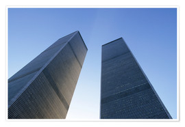 Premium poster Twin Towers of the WTC