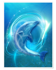 Poster  Dolphin Energy - Dolphins DreamDesign