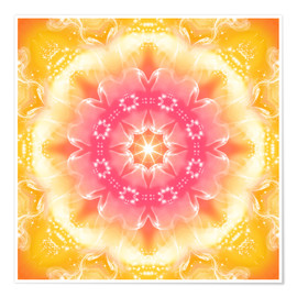 Premium poster  Mandala - Recognition - Dolphins DreamDesign
