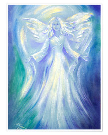 Premium poster  Angel of Love - Marita Zacharias