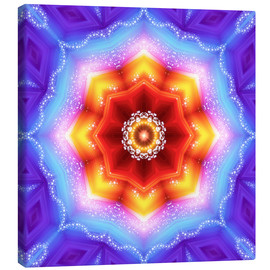 Canvas print  Mandala - Mother Earth - Dolphins DreamDesign