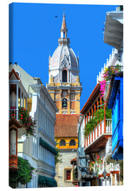 Canvas print  Church in Cartagena, Colombia - HADYPHOTO by Hady Khandani
