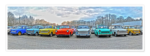 Premium poster GDR Trabant, Trabant collection