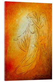 Acrylic print  Angel of healing - Marita Zacharias