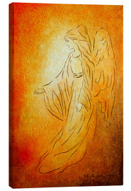 Canvas  Angel of Healing - Angel Art - Marita Zacharias
