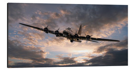 Aluminium print  The Flying Fortress - airpowerart