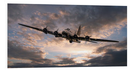 Foam board print  The Flying Fortress - airpowerart