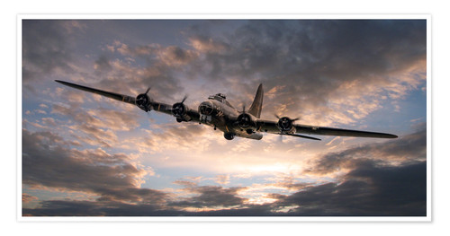 Premium poster The Flying Fortress