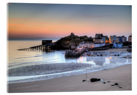 Acrylic print  Tenby Harbour - Simon West