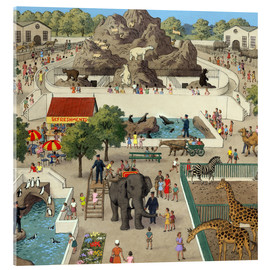 Acrylic print  At the Zoo - Ronald Lampitt