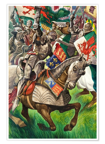 Premium poster Battle of Bosworth