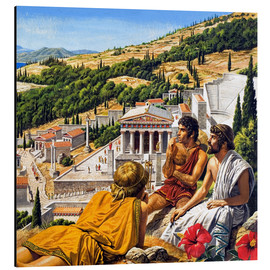 Aluminium print  Ancient Greece - Roger Payne