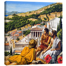 Canvas  Ancient Greece - Roger Payne