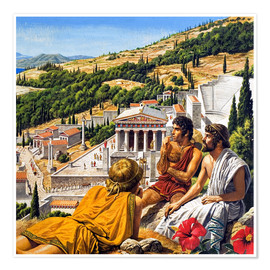 Premium poster Ancient Greece