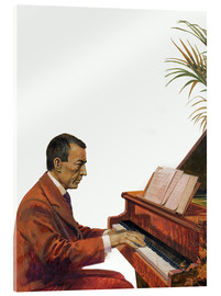 Andrew Howat - Rachmaninoff playing the piano