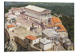 Aluminium print  The Acropolis and Parthenon - Roger Payne