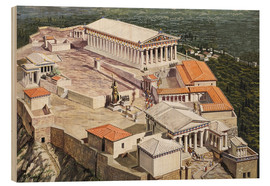 Wood  The Acropolis and Parthenon - Roger Payne