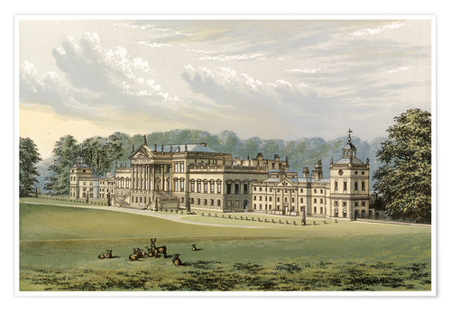 Premium poster Wentworth Woodhouse
