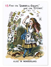 Premium poster Alice in Wonderland, page 15