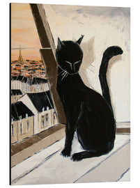 Aluminium print  Paris of cats - JIEL