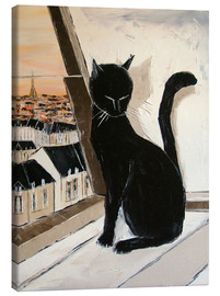 Canvas print  Paris of cats - JIEL