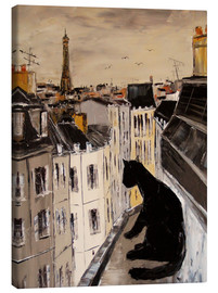 Canvas print  Paris views - JIEL