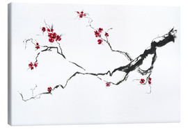 Canvas print  Cherry blossom - Jitka Krause