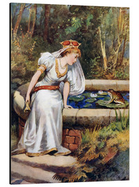 Alu-Dibond  The Frog Prince - William Henry Margetson