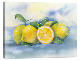 Canvas print  Lemons - Jitka Krause