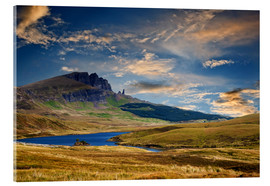 Acrylic print  Scotland - Old Man of Storr at the isle of Skye - Reiner Würz