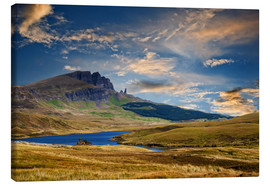 Canvas print  Scotland - Old Man of Storr at the isle of Skye - Reiner Würz