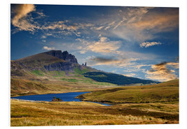 Foam board print  Scotland - Old Man of Storr at the isle of Skye - Reiner Würz