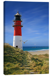 Canvas print  Lighthouse dyke - Monika Jüngling