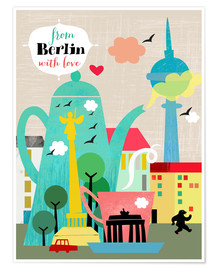 Poster  From Berlin With Love - Elisandra Sevenstar