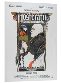 Foam board print  Nosferatu The Vampyre, French Poster