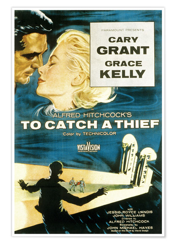Premium poster To Catch a Thief