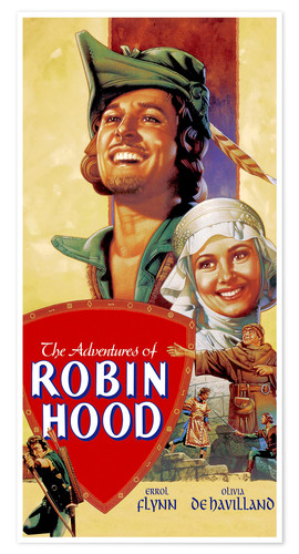 Premium poster Robin Hood, King of the Rovers