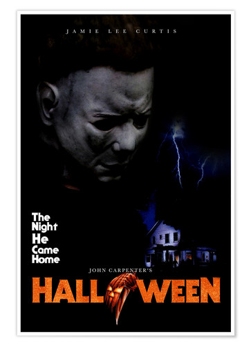 Halloween 1978 Movie Poster.Premium Poster Halloween 1978