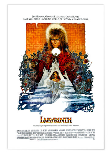 Labyrinth Posters And Prints Posterlounge Co Uk