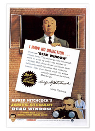 Premium poster Rear window