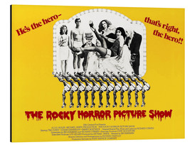 Aluminium print  The Rocky Horror Picture Show