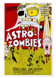 Poster  THE ASTRO-ZOMBIES, 1968
