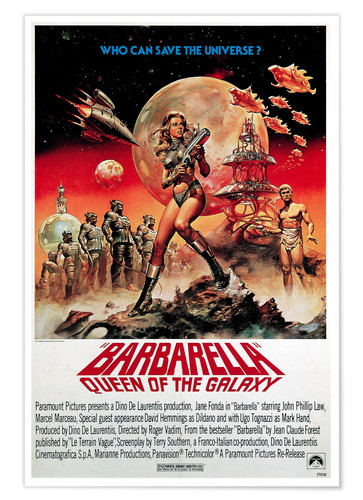 Premium poster Barbarella, Queen of the Galaxy